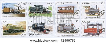 Train Stamps