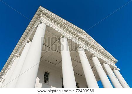 Classic portico architecture