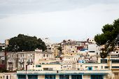 pic of asilah  - In the picture we can see outside of classical buildings in Tangier in Morocco  - JPG