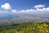 image of breathtaking  - Breathtaking picturesque landscape of Naples and Gulf of Naples - JPG