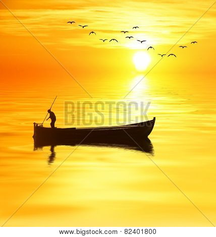 the fisherman and sun