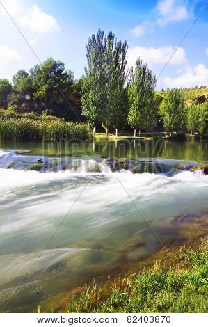 the Turia river of Spain