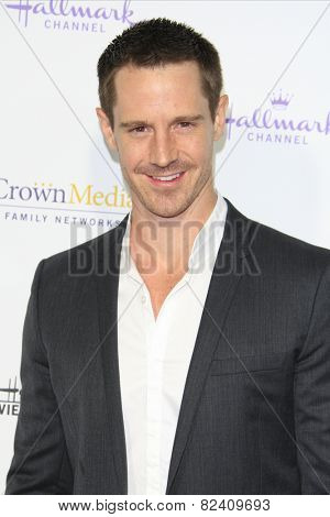 LOS ANGELES - JAN 8: Jason Dohring at the TCA Winter 2015 Event For Hallmark Channel and Hallmark Movies & Mysteries at Tournament House on January 8, 2015 in Pasadena, CA