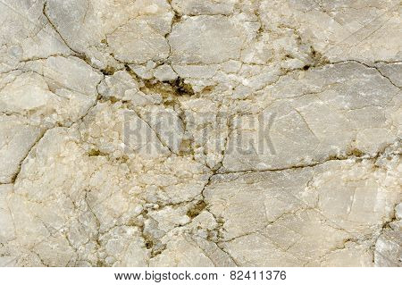 Cracked Marble Texture Close-up