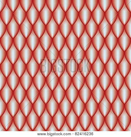 red scales pattern