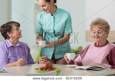Residents Of Residential Home