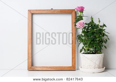 Frame And Rose
