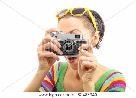 Pretty Woman Photographer