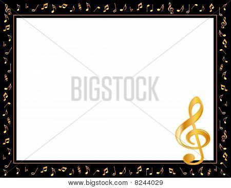 Golden Music Poster