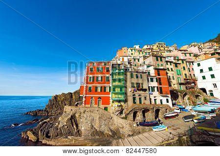 Riomaggiore Liguria Italy