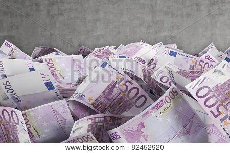 500 Euro Bills