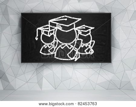 Student In Bachelor Cap