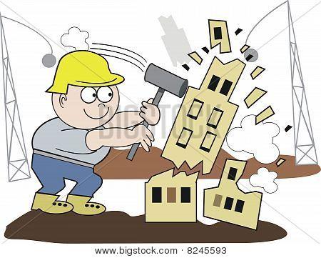 Demolition man cartoon