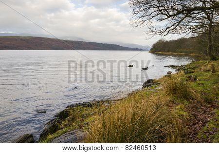 Coniston Water Lake District Cumbria