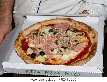 Pizza Ready For Take Away