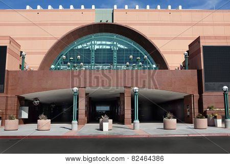 The Honda Center In Anaheim
