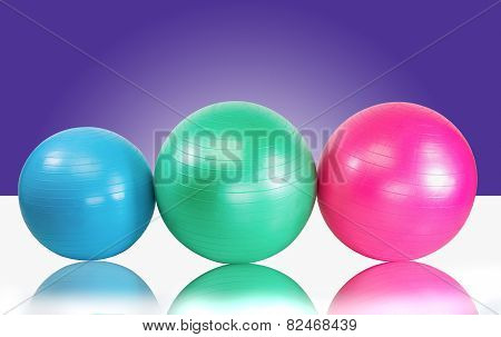 Colorful Exercise Balls