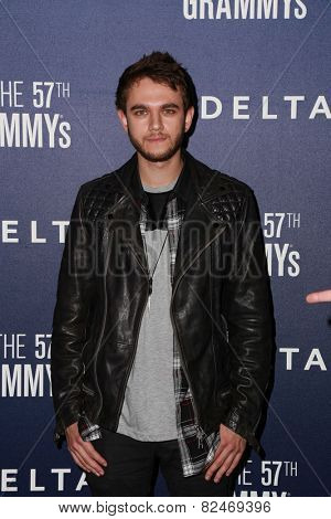 LOS ANGELES - FEB 5:  Zedd at the Delta Air Lines Toasts 2015 GRAMMYs at a SOHO House on February 5, 2015 in West Hollywood, CA
