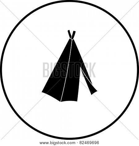 native american tepee symbol