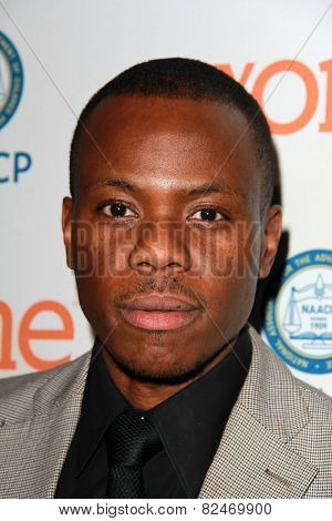 LOS ANGELES - FEB 5:  Duain Richmond at the 46th NAACP Image Awards Non-Televised Ceremony  at a Pasadena Convention Center on February 5, 2015 in Pasadena, CA