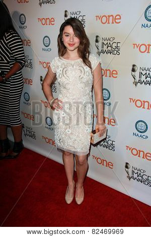 LOS ANGELES - FEB 5:  Fatima Ptacek at the 46th NAACP Image Awards Non-Televised Ceremony  at a Pasadena Convention Center on February 5, 2015 in Pasadena, CA
