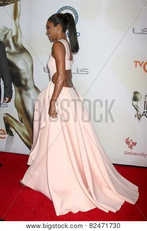 LOS ANGELES - FEB 6:  Gabrielle Union at the 46th NAACP Image Awards Arrivals at a Pasadena Convention Center on February 6, 2015 in Pasadena, CA
