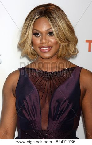 LOS ANGELES - FEB 6:  Laverne Cox at the 46th NAACP Image Awards Arrivals at a Pasadena Convention Center on February 6, 2015 in Pasadena, CA