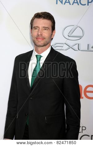 LOS ANGELES - FEB 6:  Scott Foley at the 46th NAACP Image Awards Arrivals at a Pasadena Convention Center on February 6, 2015 in Pasadena, CA