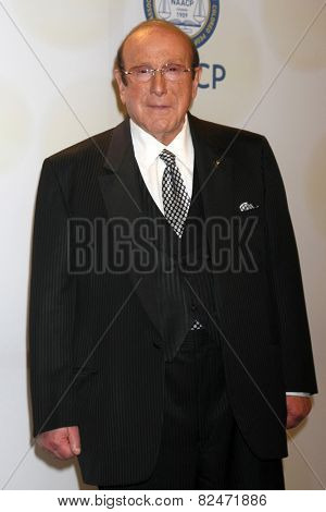 LOS ANGELES - FEB 6:  Clive Davis at the 46th NAACP Image Awards Press Room at a Pasadena Convention Center on February 6, 2015 in Pasadena, CA