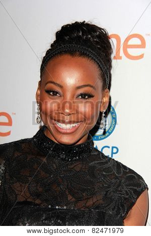 LOS ANGELES - FEB 5:  Erica Ash at the 46th NAACP Image Awards Non-Televised Ceremony  at a Pasadena Convention Center on February 5, 2015 in Pasadena, CA