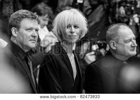 BERLIN, GERMANY - FEBRUARY 05: Katja Eichinger. Nobody Wants the Night, Opening Night premiere  65th Berlinale International Film Festival at Berlinale Palace on February 5, 2015 in Berlin, Germany