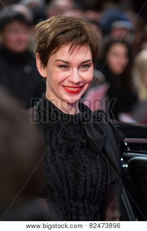 BERLIN, GERMANY - FEBRUARY 05: Christiane Paul. Nobody Wants the Night, Opening Night premiere  65th Berlinale International Film Festival at Berlinale Palace on February 5, 2015 in Berlin, Germany