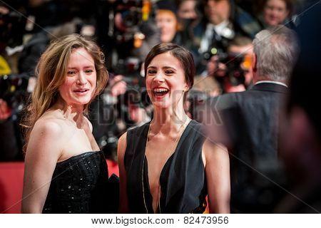 BERLIN, GERMANY - FEBRUARY 05: Aylin Tezel. Nobody Wants the Night, Opening Night premiere  65th Berlinale International Film Festival at Berlinale Palace on February 5, 2015 in Berlin, Germany