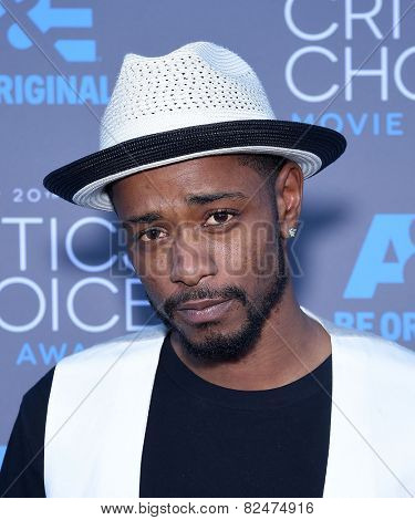 LOS ANGELES - JAN 16:  Keith Stanfield arrives to the Critics' Choice Awards 2015  on January 16, 2015 in Hollywood, CA