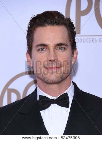 LOS ANGELES - JAN 24:  Matt Bomer arrives to the 26th Annual Producers Guild Awards  on January 24, 2015 in Century City, CA