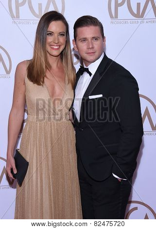 LOS ANGELES - JAN 24:  Allen Leech arrives to the 26th Annual Producers Guild Awards  on January 24, 2015 in Century City, CA