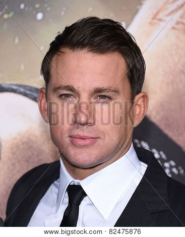 LOS ANGELES - FEB 02:  Channing Tatum arrives to the