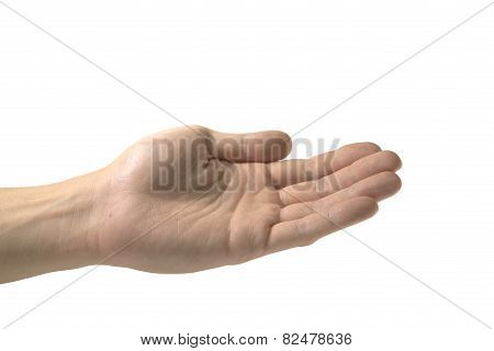 After you hand gesture