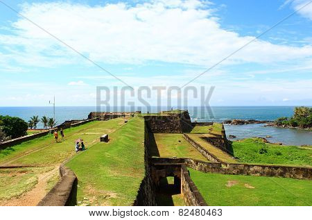 The Dutch Fort of Galle, Sri Lanka