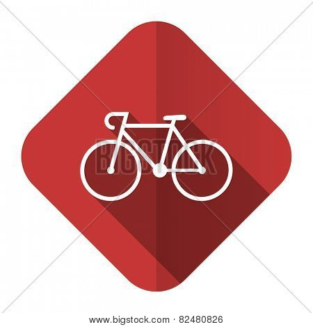 bicycle flat icon bike sign
