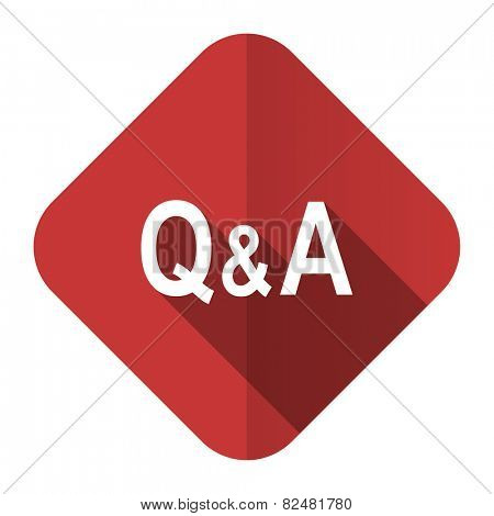 question answer flat icon