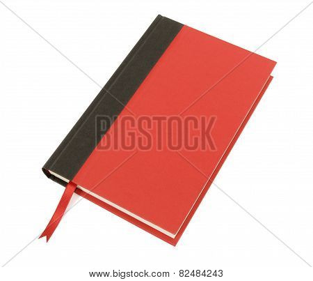 Red And Black Hardback Book