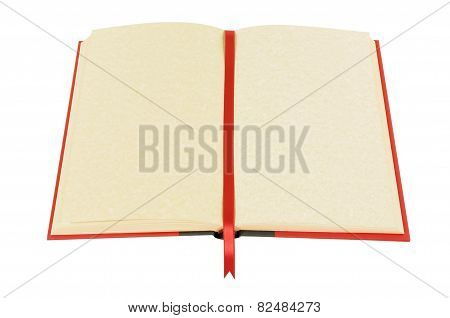 Blank Book With Bookmark
