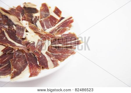 Detail Iberian Ham