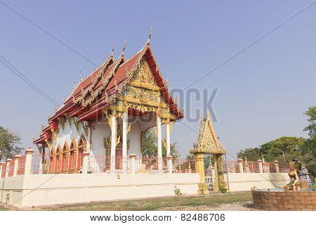 Temple at wat kokyai wannaram