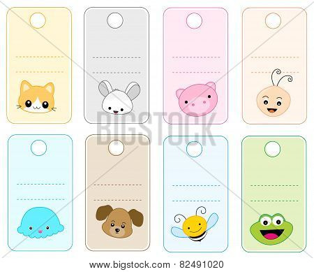 Printable Animal Gift Tags