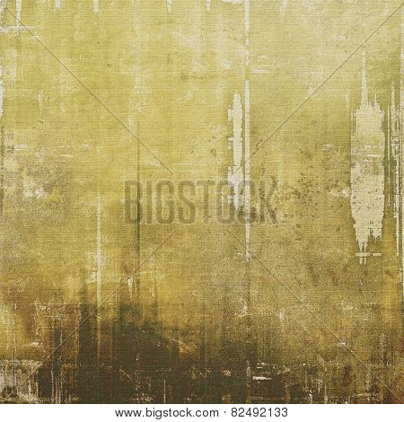 Grunge retro vintage texture, old background. With different color patterns: yellow (beige); brown; gray; black