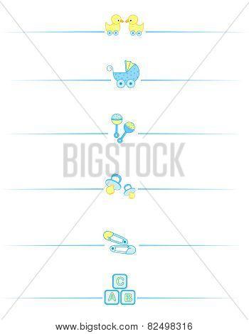 Baby Boy Accessories Divider
