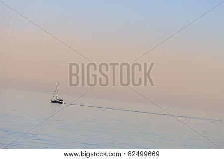Sunset Cruise On Sailboat