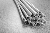 foto of thermoplastics  - Plastic tubes - JPG